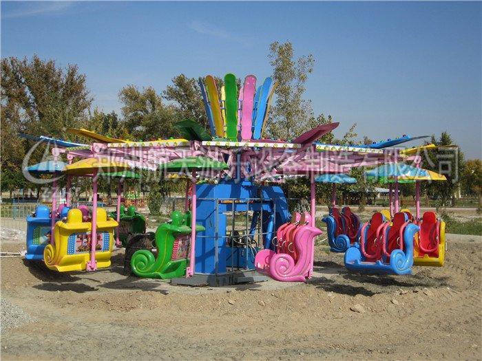 5月20日发往黑龙江喷球车,飞椅等设备